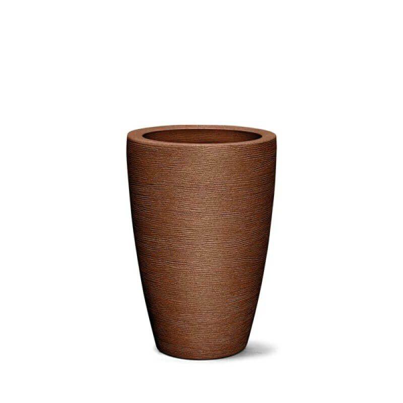 Vaso Grafiato Cônico 38cm Polietileno - Nutriplan