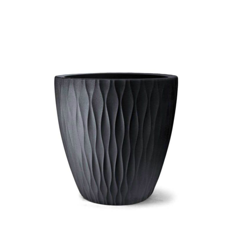 Vaso Infinity Redondo 37cm Polietileno - Nutriplan
