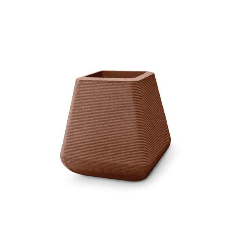 Vaso em Polietileno Riscatto Quadrado 42,5cm - Nutriplan