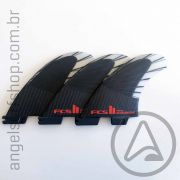 Quilha FCS II ACCELERATOR Performance Core Carbon AirCore