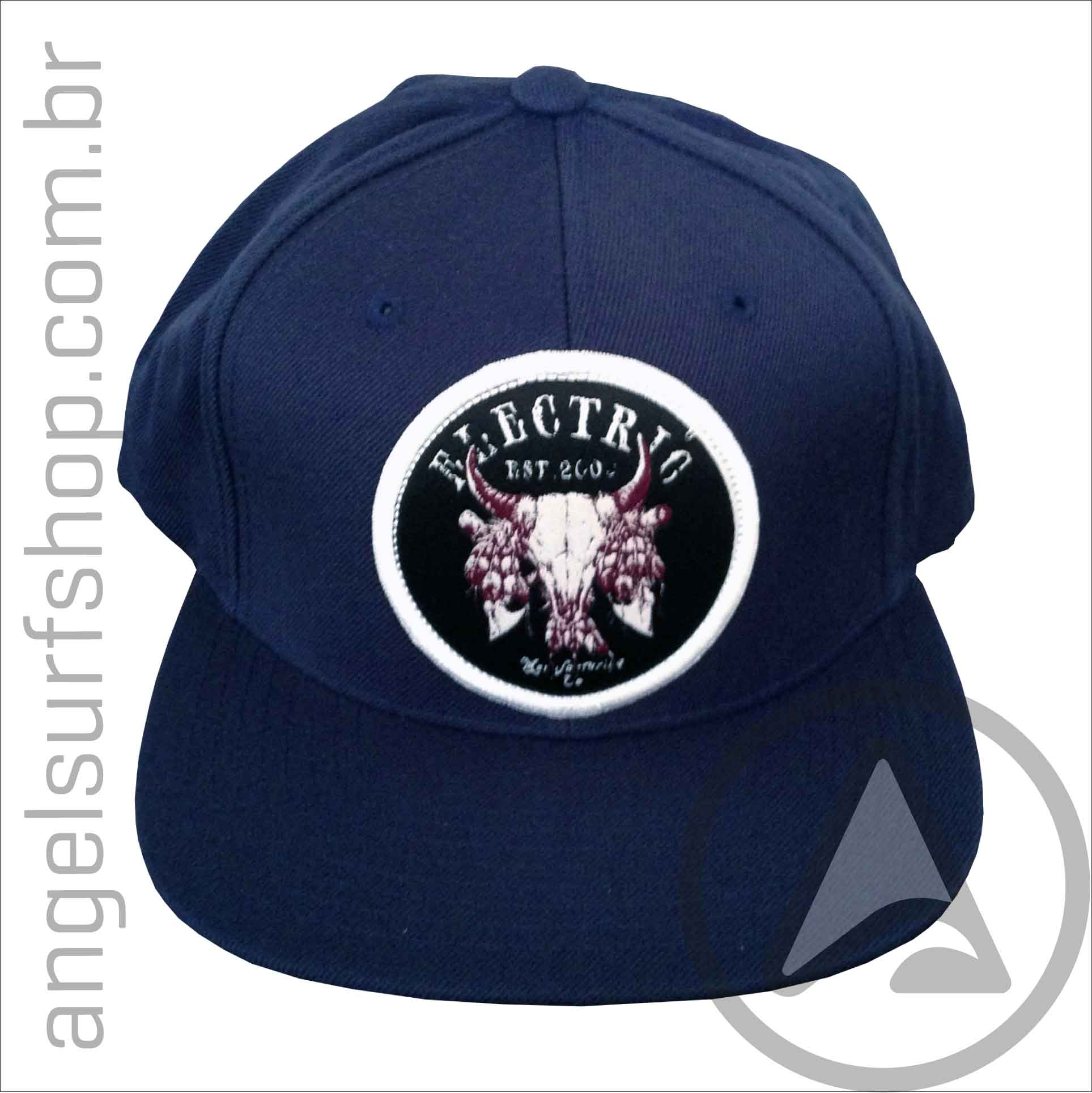 Boné Electric Visual Flex Fit Ringer Hat SnapBack