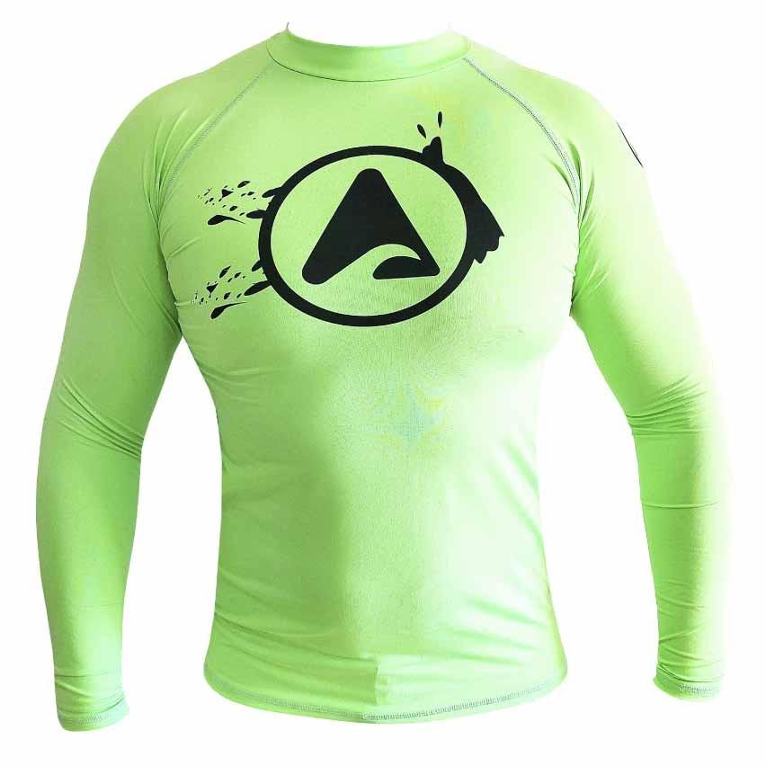 Camiseta de Lycra ANGEL WASH com Proteção Solar