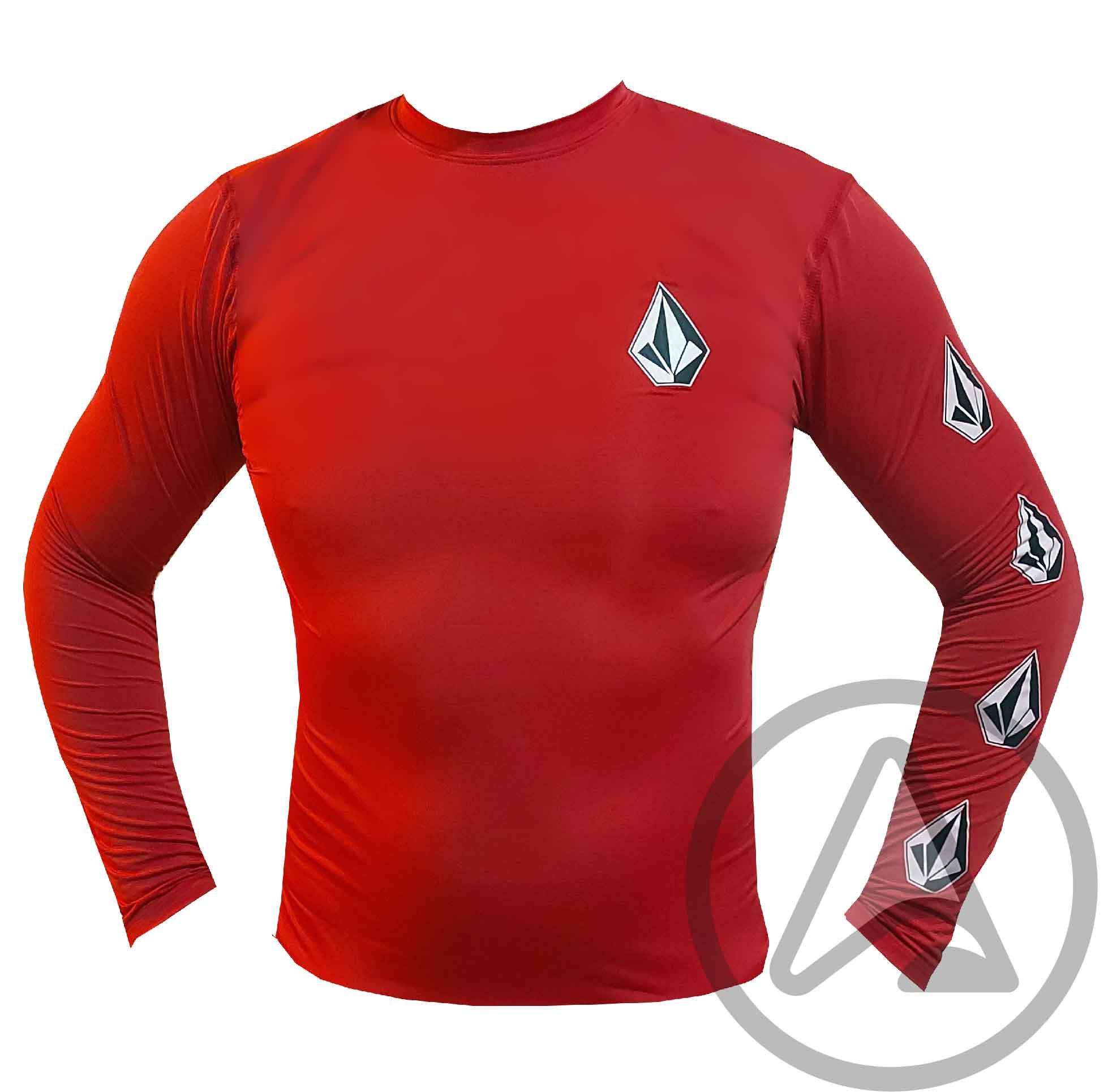Camiseta de Lycra VOLCOM Deadly Stones - Várias Cores