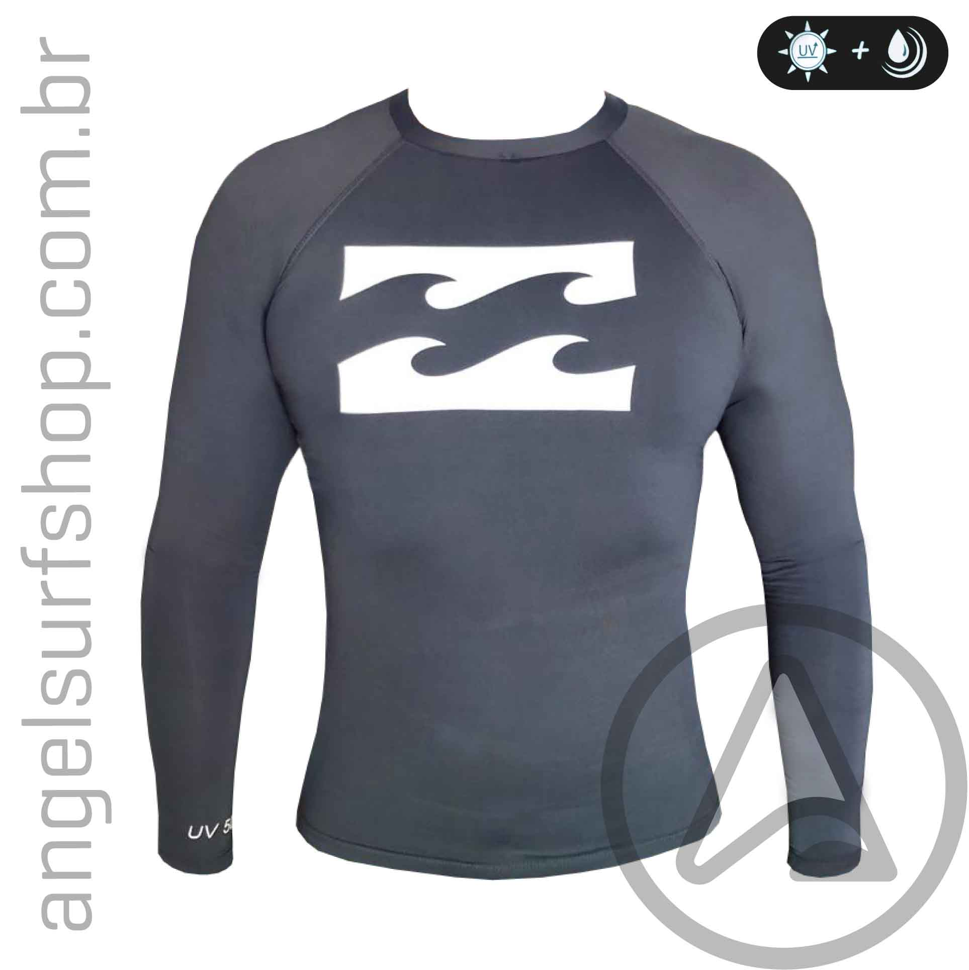 fcf3f2945f Camiseta de Lycra Billabong All Day Wave
