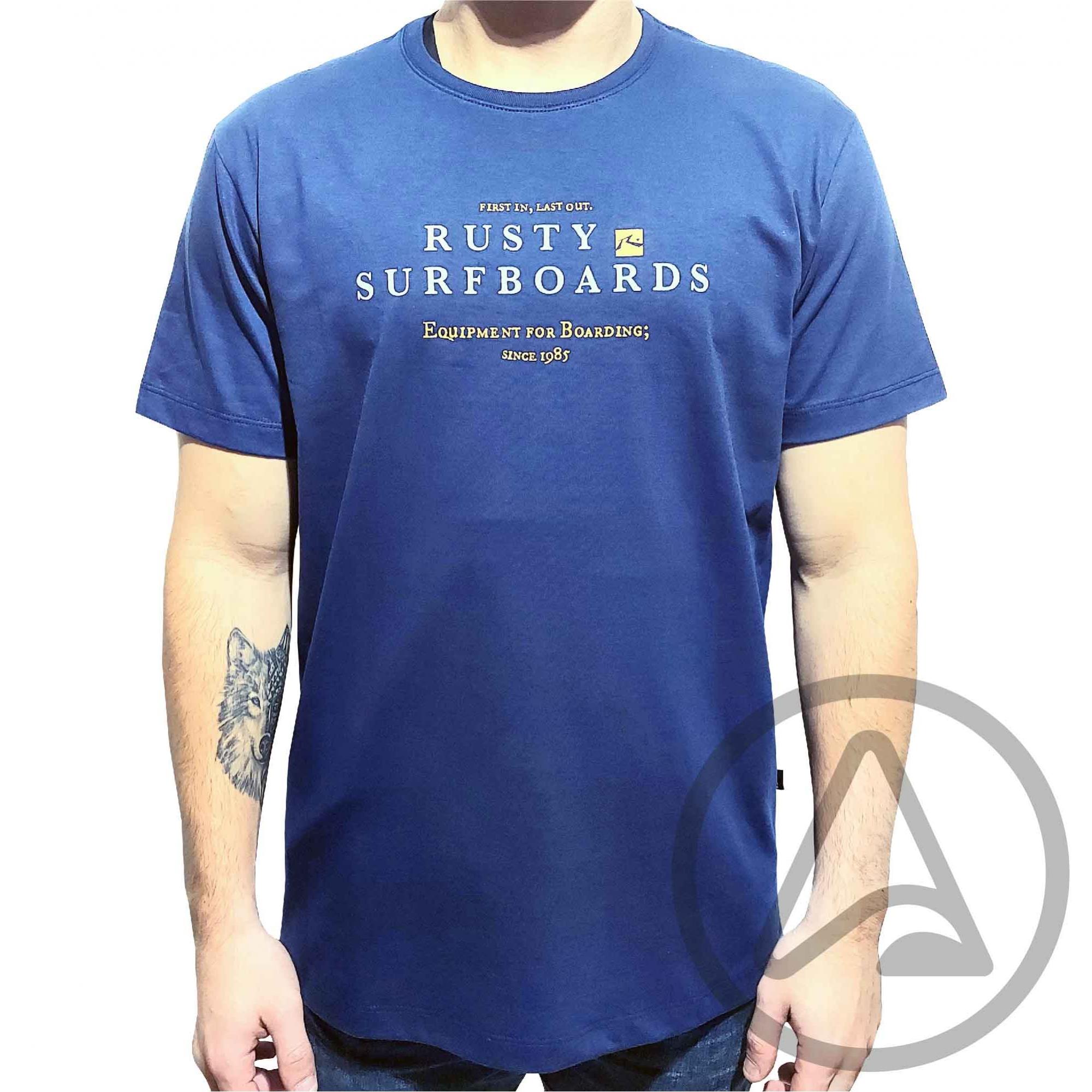 Camiseta RUSTY Silk MC Foundation