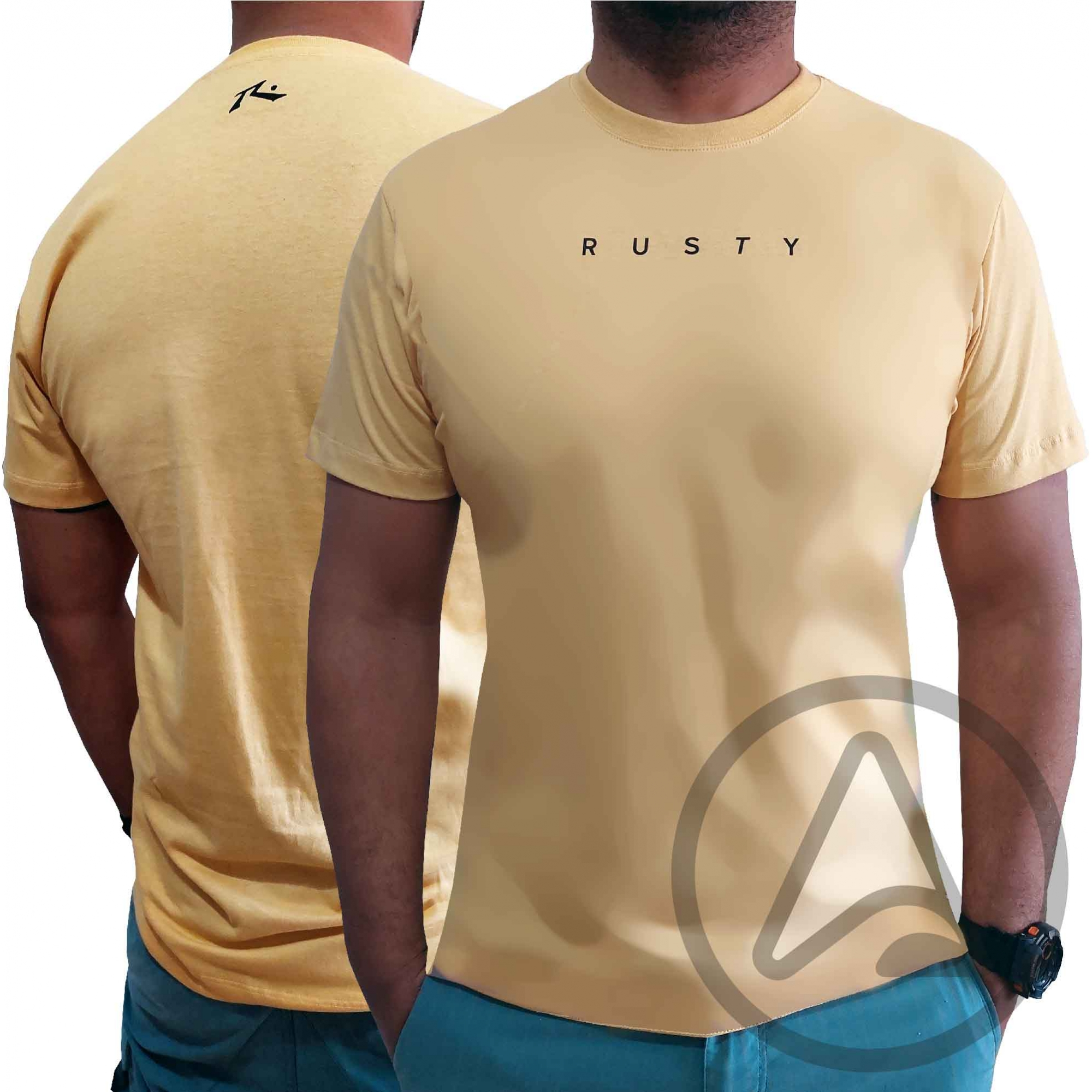 Camiseta RUSTY Silk SHORT CUT