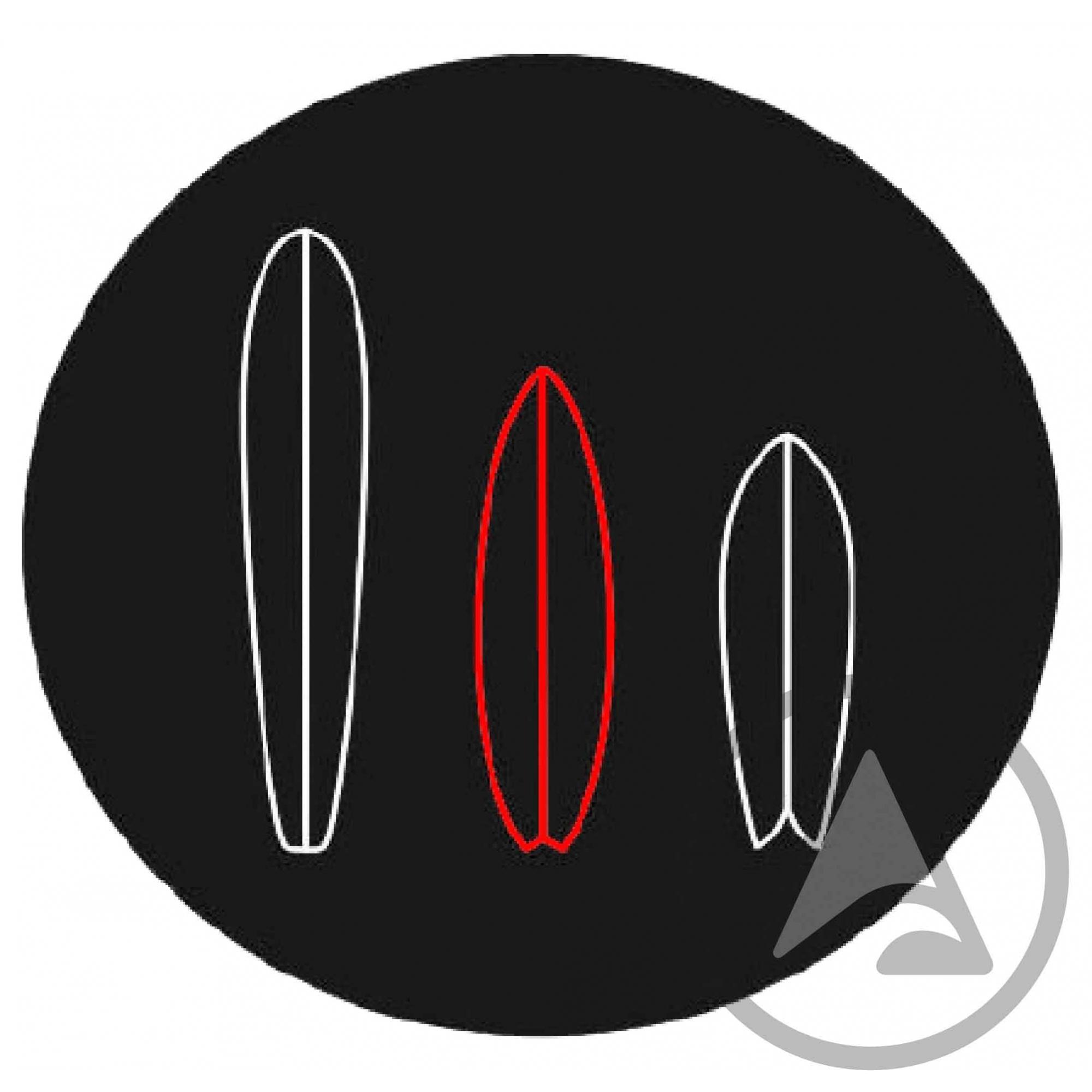 Capa Toalha Bullys Shortboard 6'0 até 6'3