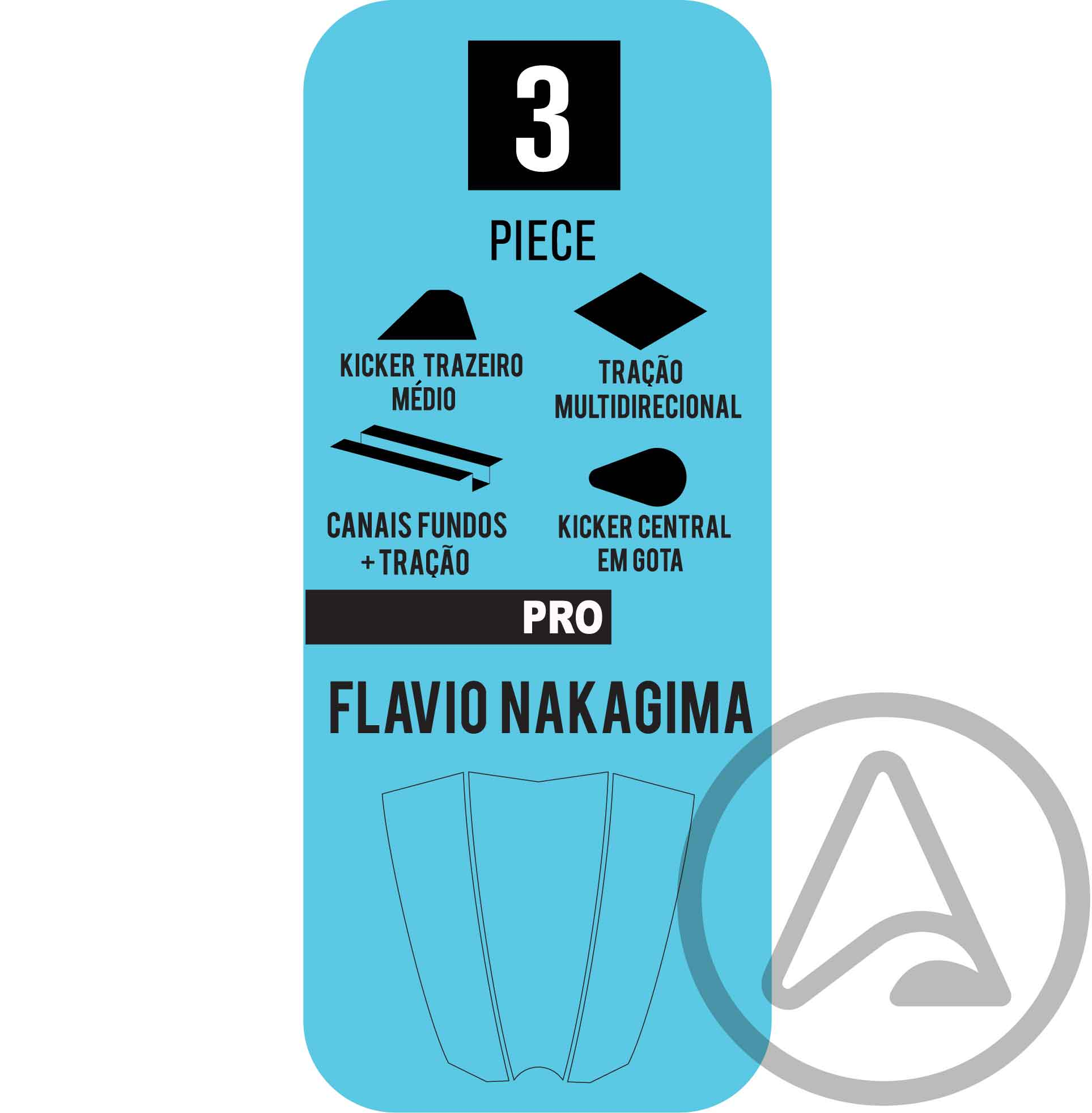 Deck Bully's Pro Flavio Nakagima (Várias Cores)