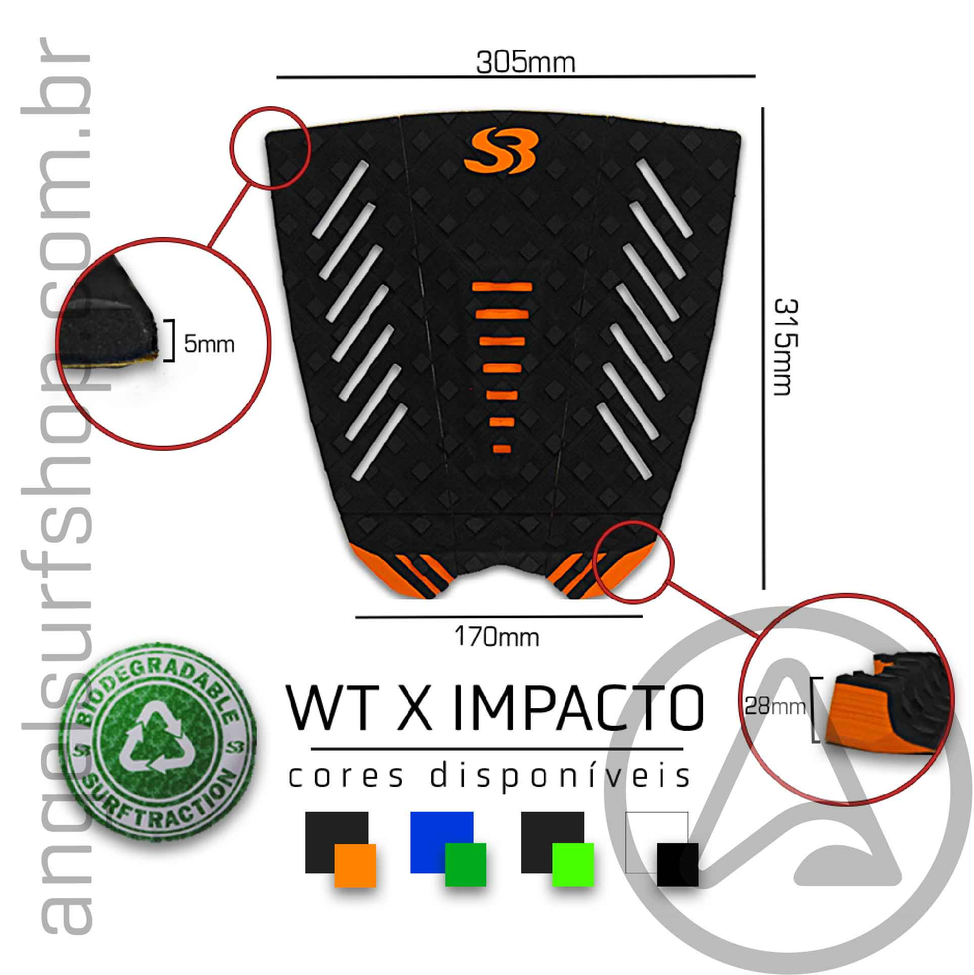DECK SURF SILVERBAY WT X IMPACTO
