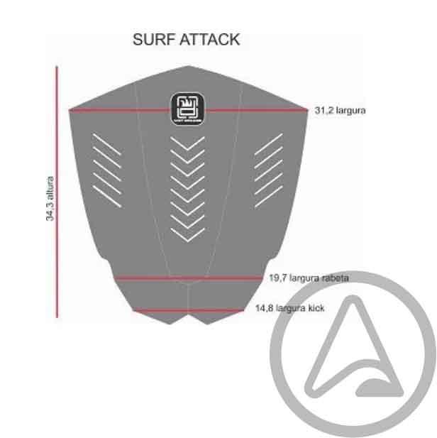 Deck Wet Dreams Surf Attack CNC Especial