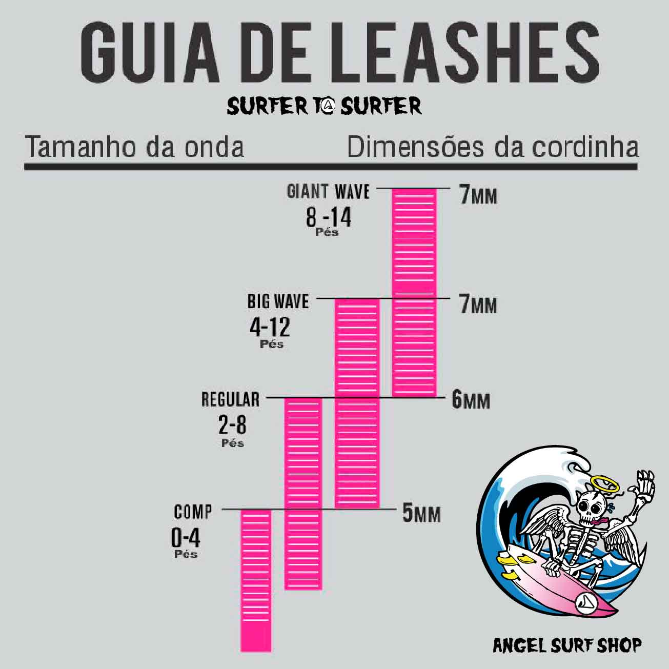 Leash Bully's COMPETIÇÃO Golden Series 6x5mm