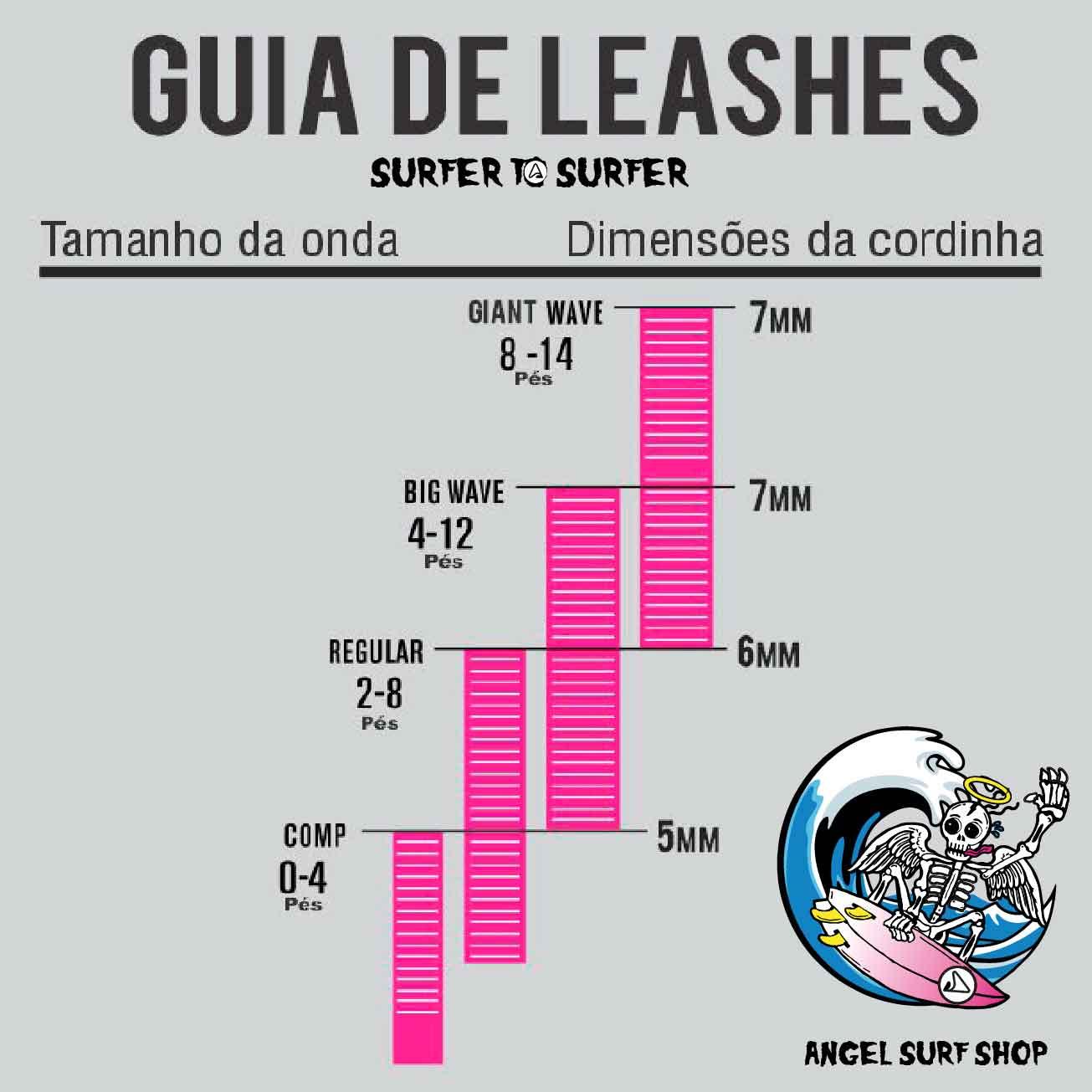 Leash Bully's COMPETIÇÃO Silver Series 6x5mm