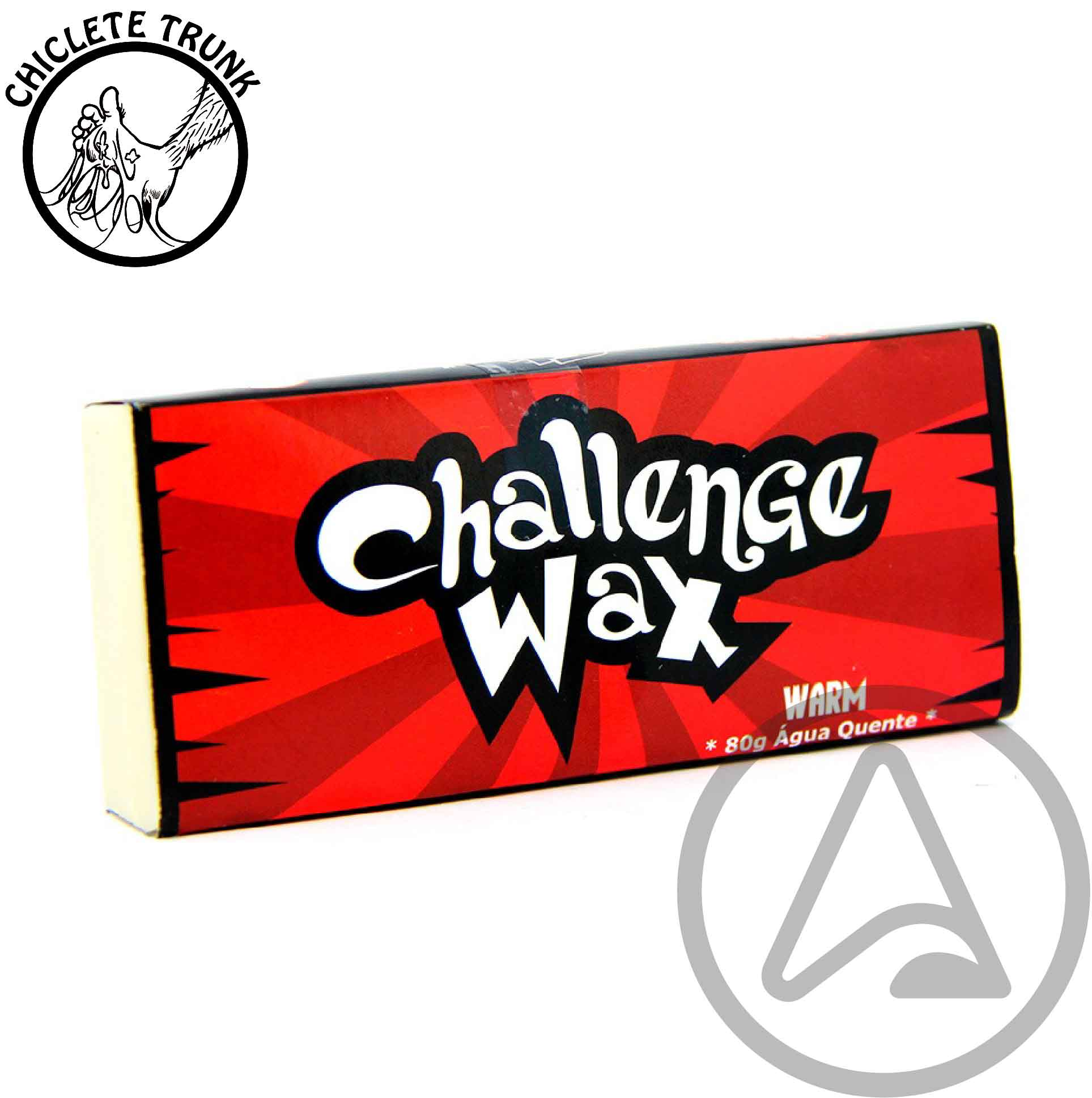 Parafinas CTWax Challenge Wax 80g - Água Gelada - Fria - Morna - Quente - Nordeste
