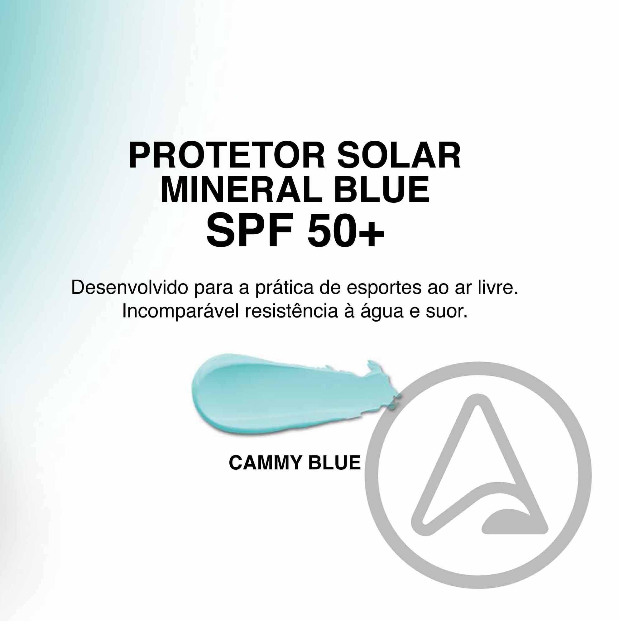Protetor Solar Mineral - Chameleon Sun - BLUE - (Pote + Refil)