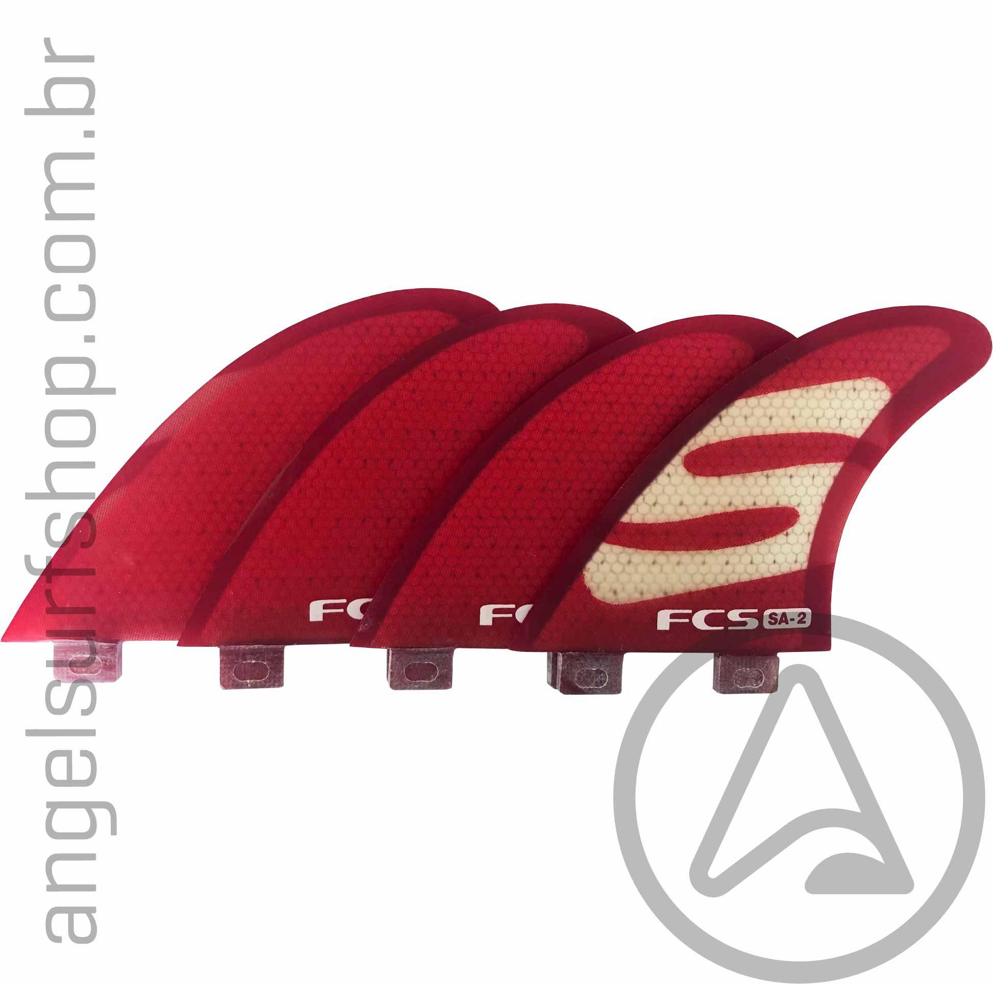 Quilha FCS I Simon Anderson Quad Performance Core