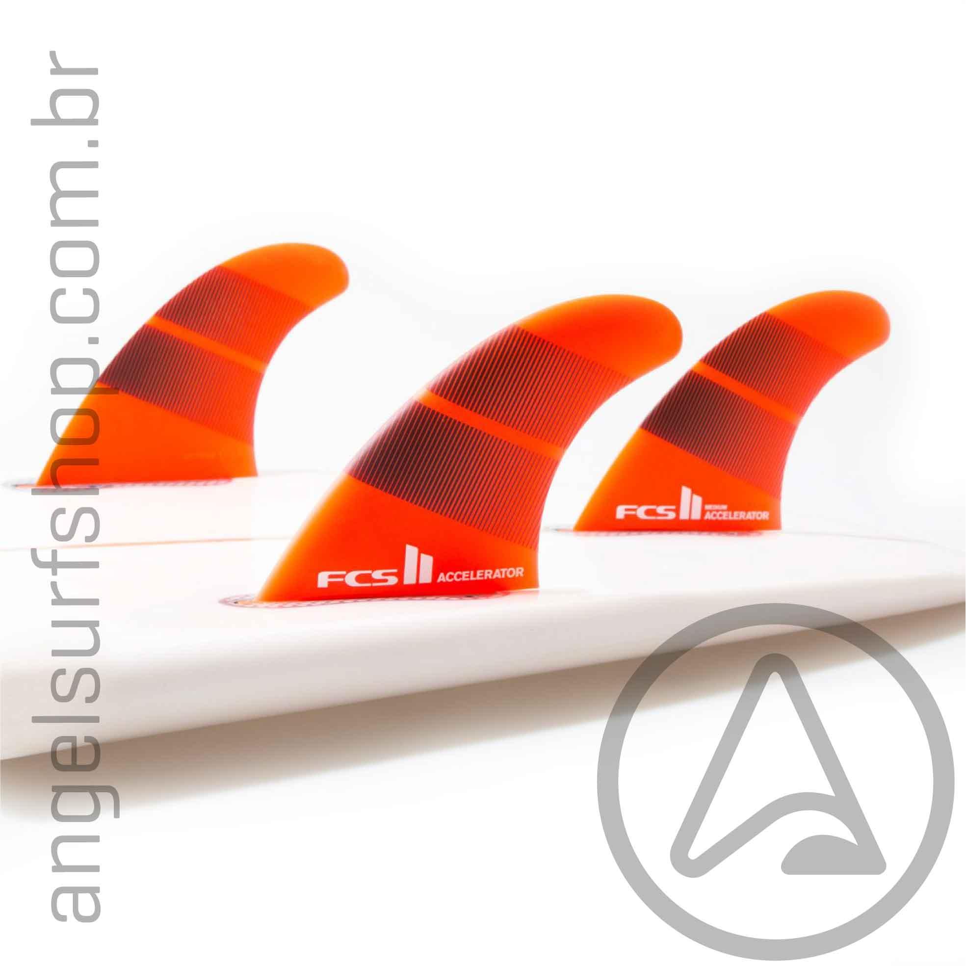 Quilha FCS II Accelerator Neo Glass M/L