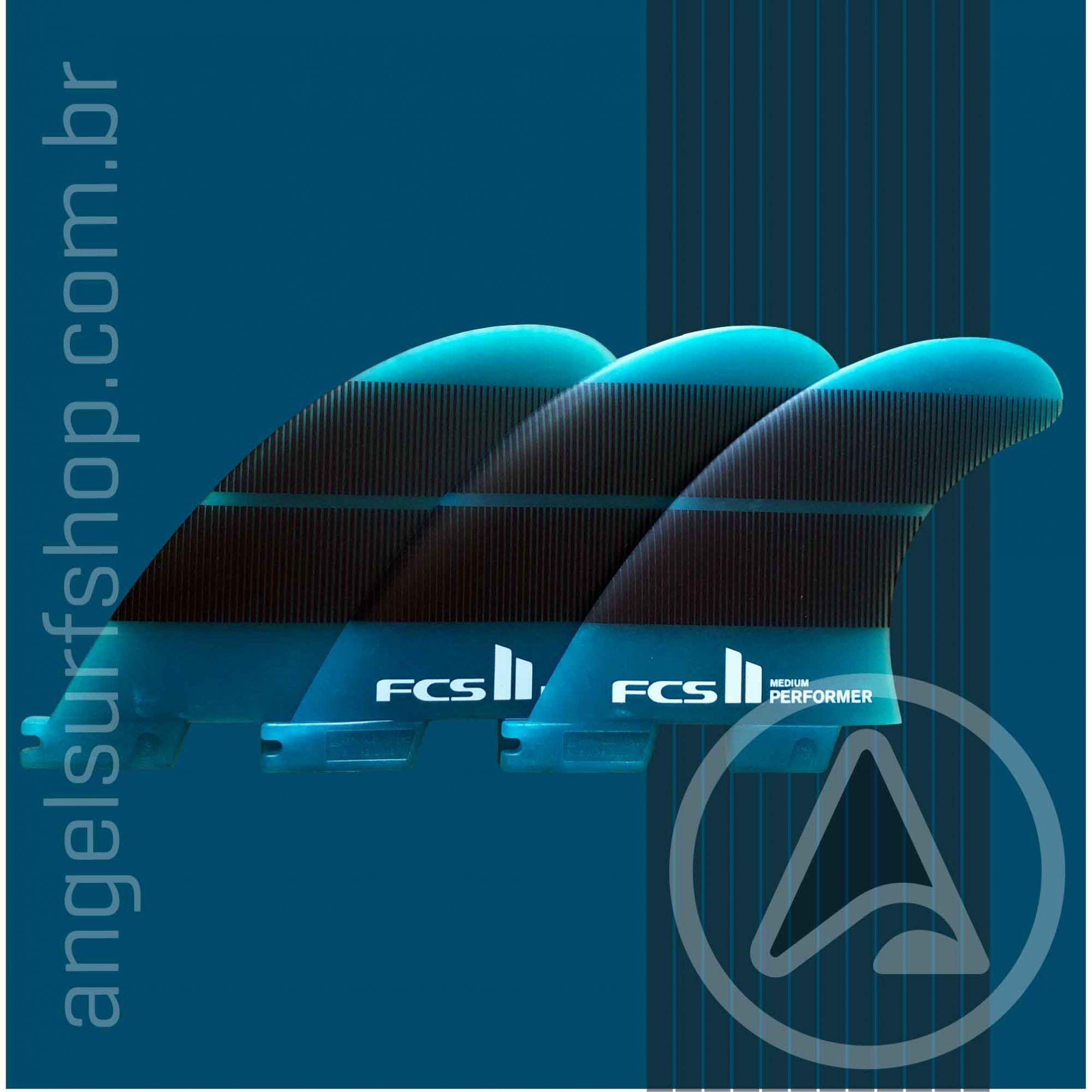 Quilha FCS II Performer Neo Glass P/M/L