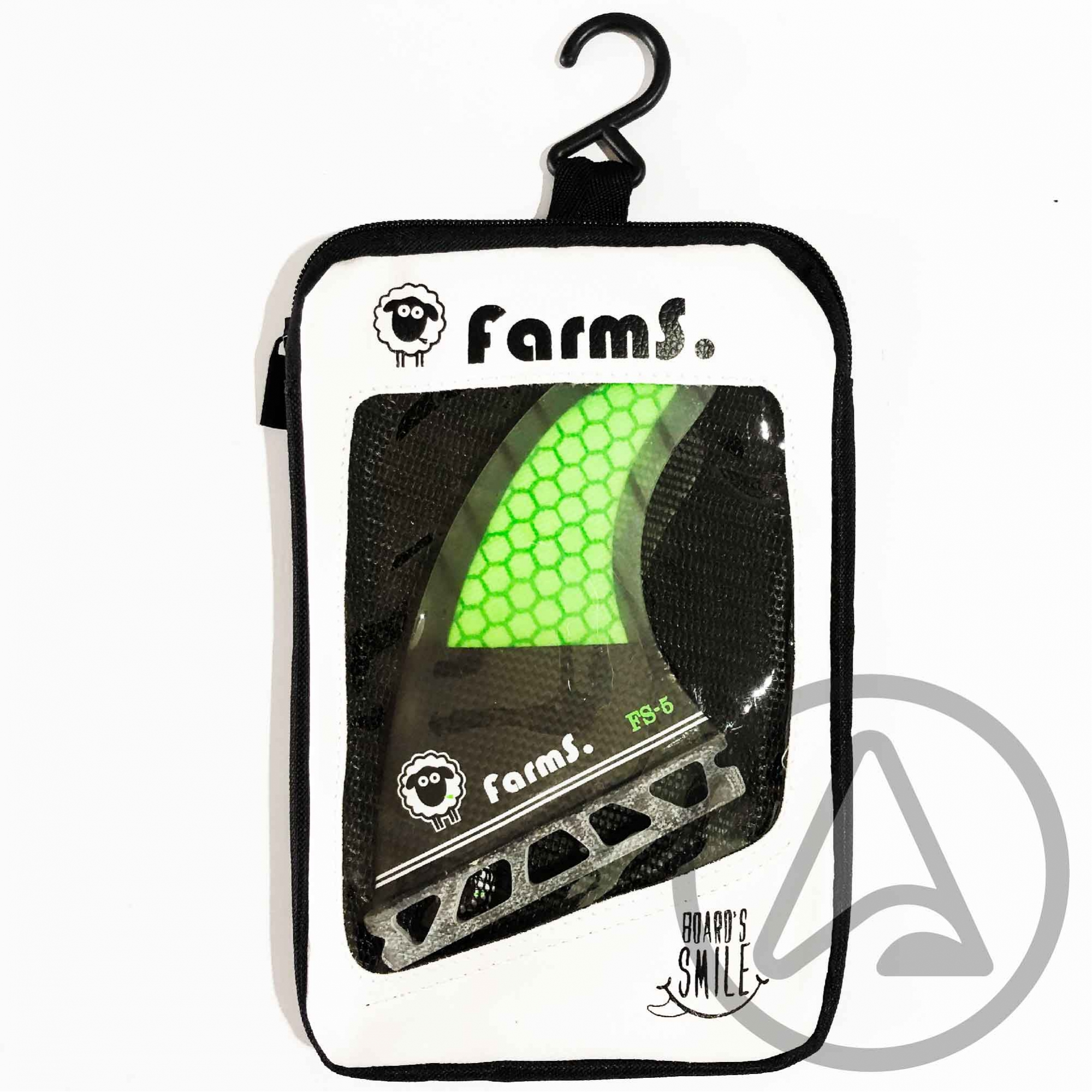 Quilhas Farms Carbono FS-5 - Encaixe FUTURE