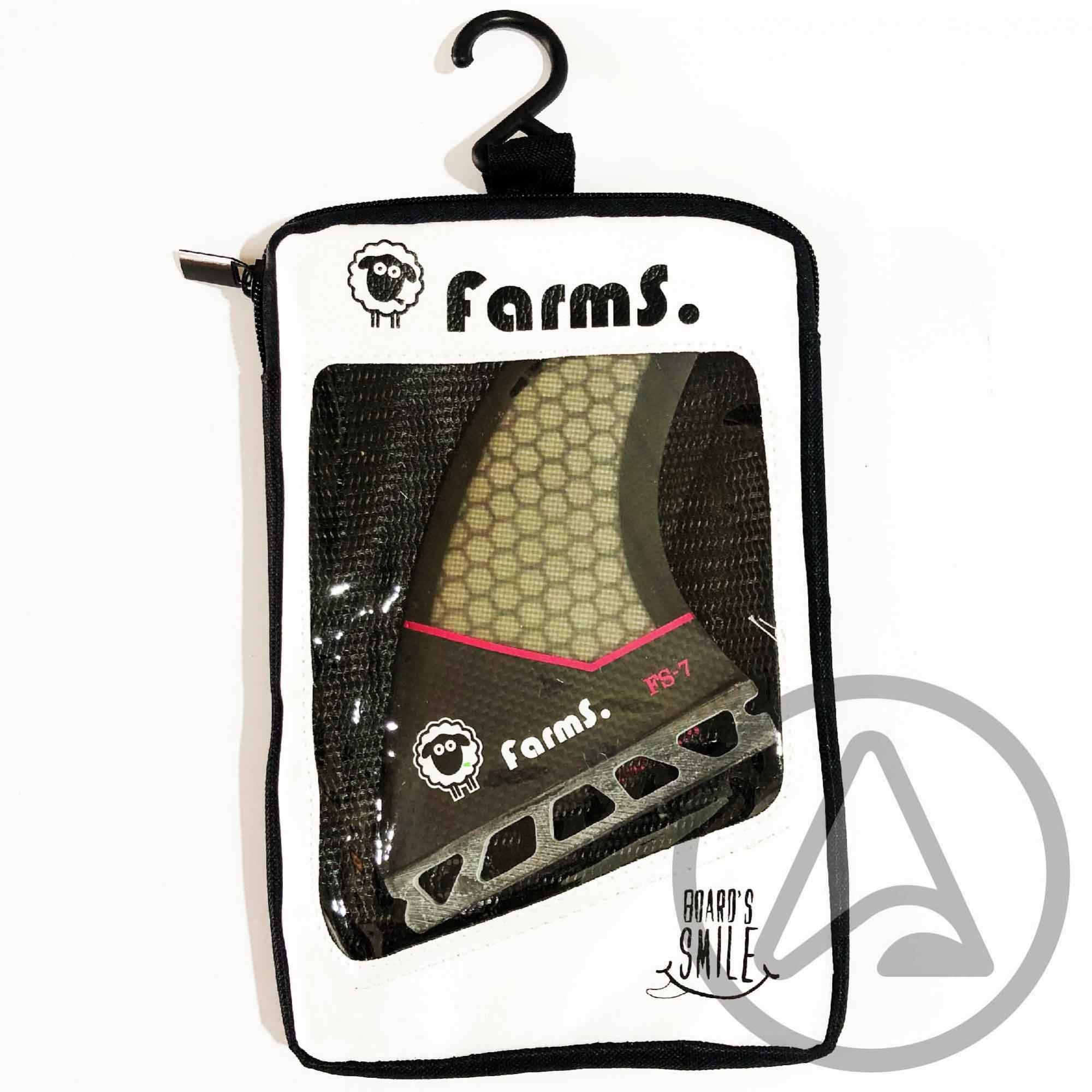 Quilhas Farms Carbono FS-7 - Encaixe FUTURE