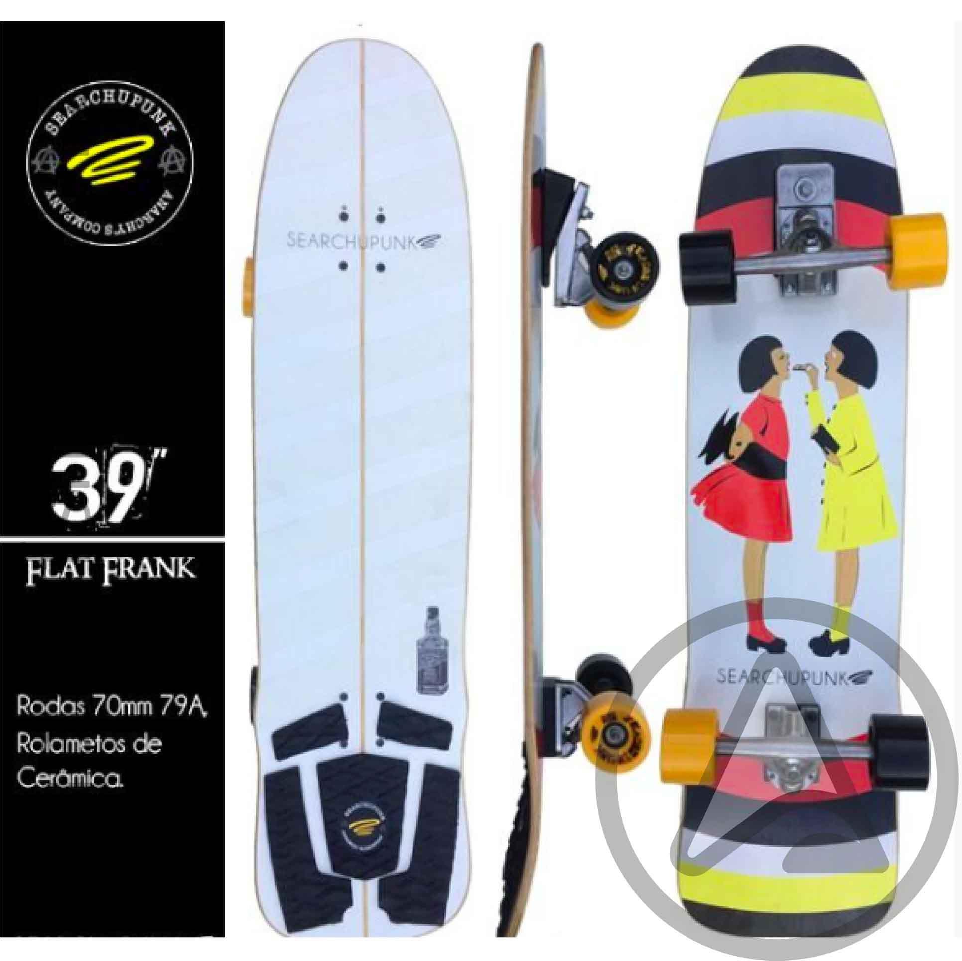20549d398 Skate Simulador de Surf Flat Frank 39   - Angel Surf Shop