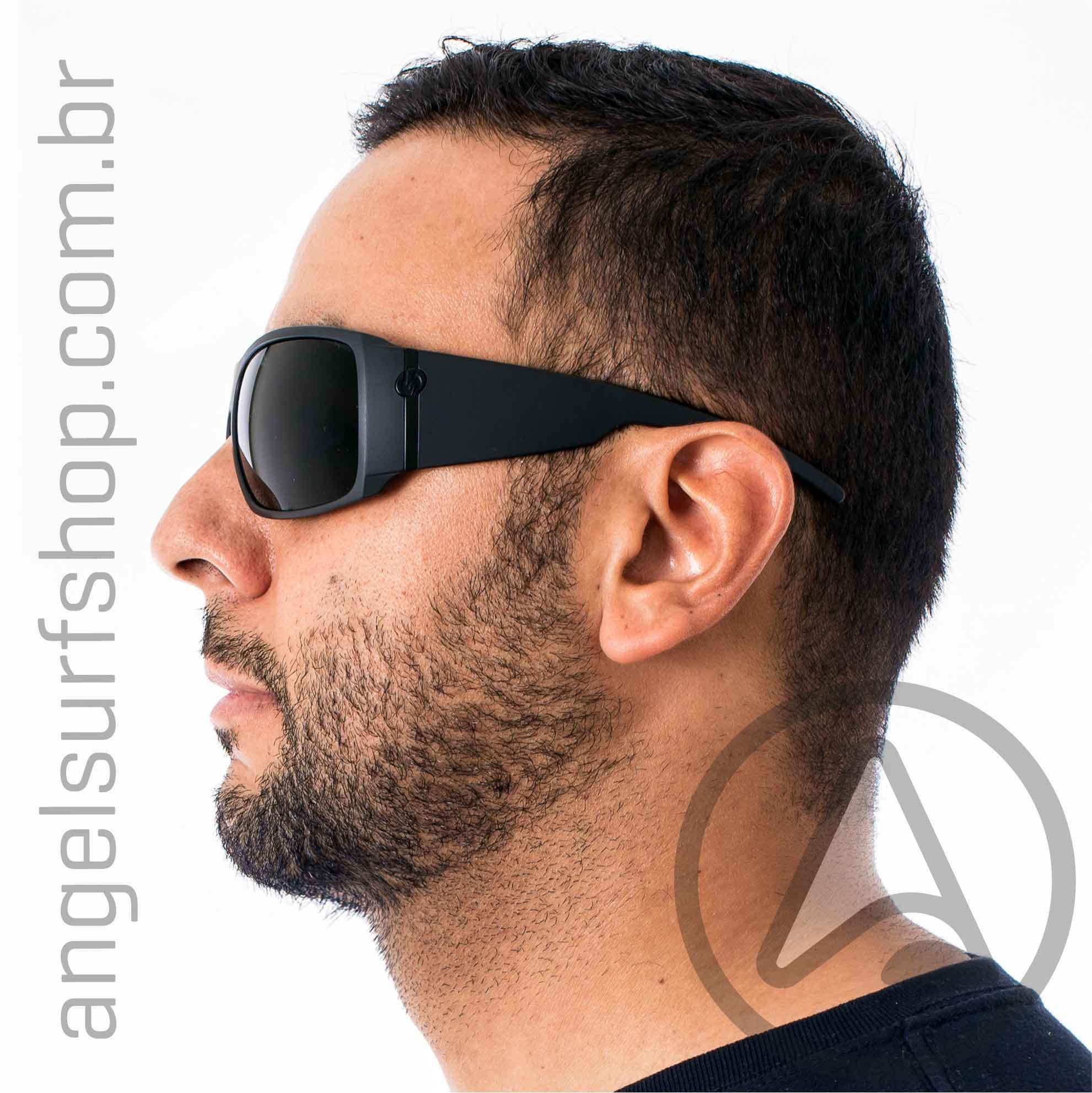 Oculos de Sol Electric Big Beat Matte Black Grey
