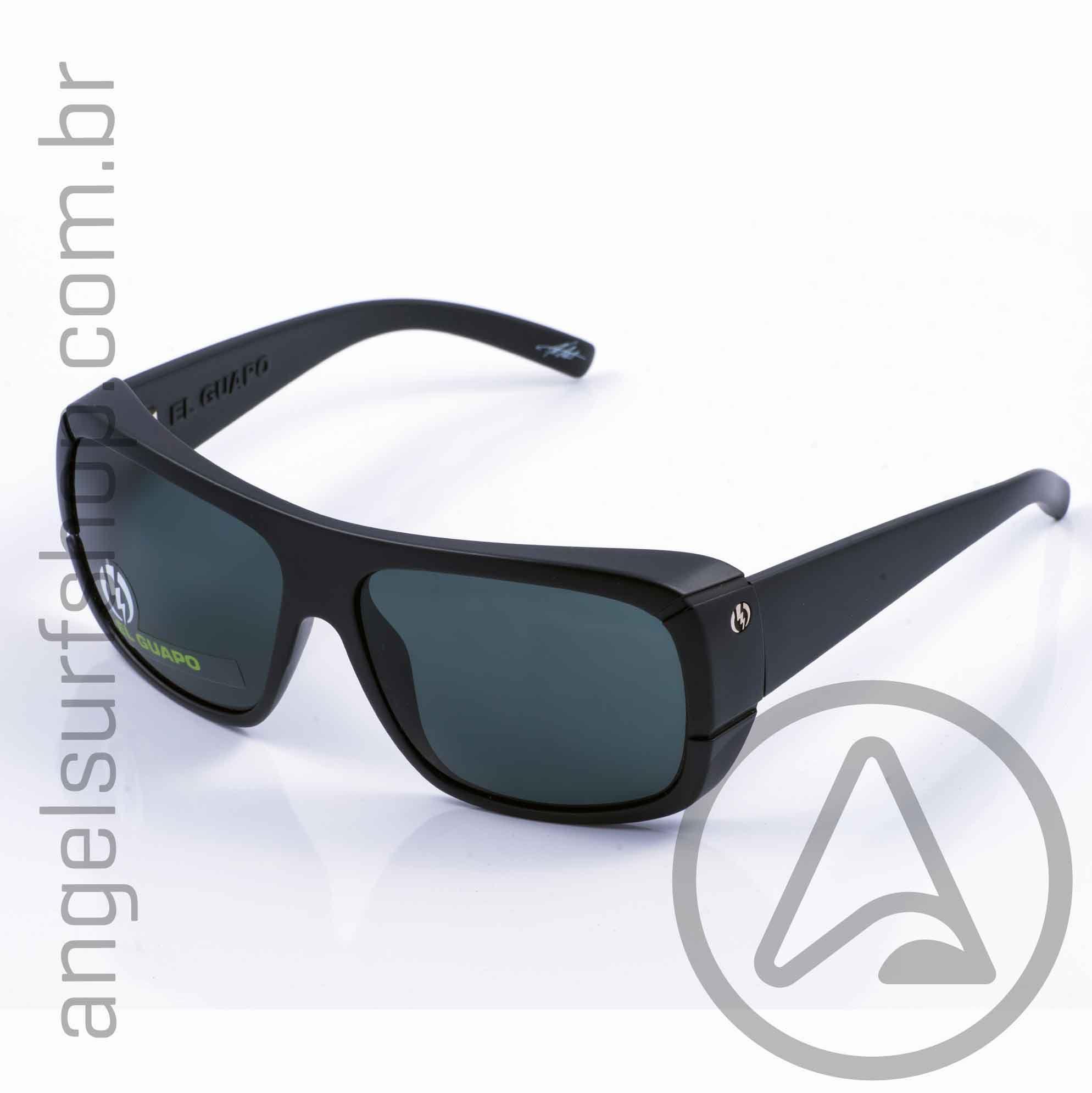 Oculos de Sol Electric El Guapo Gloss Black