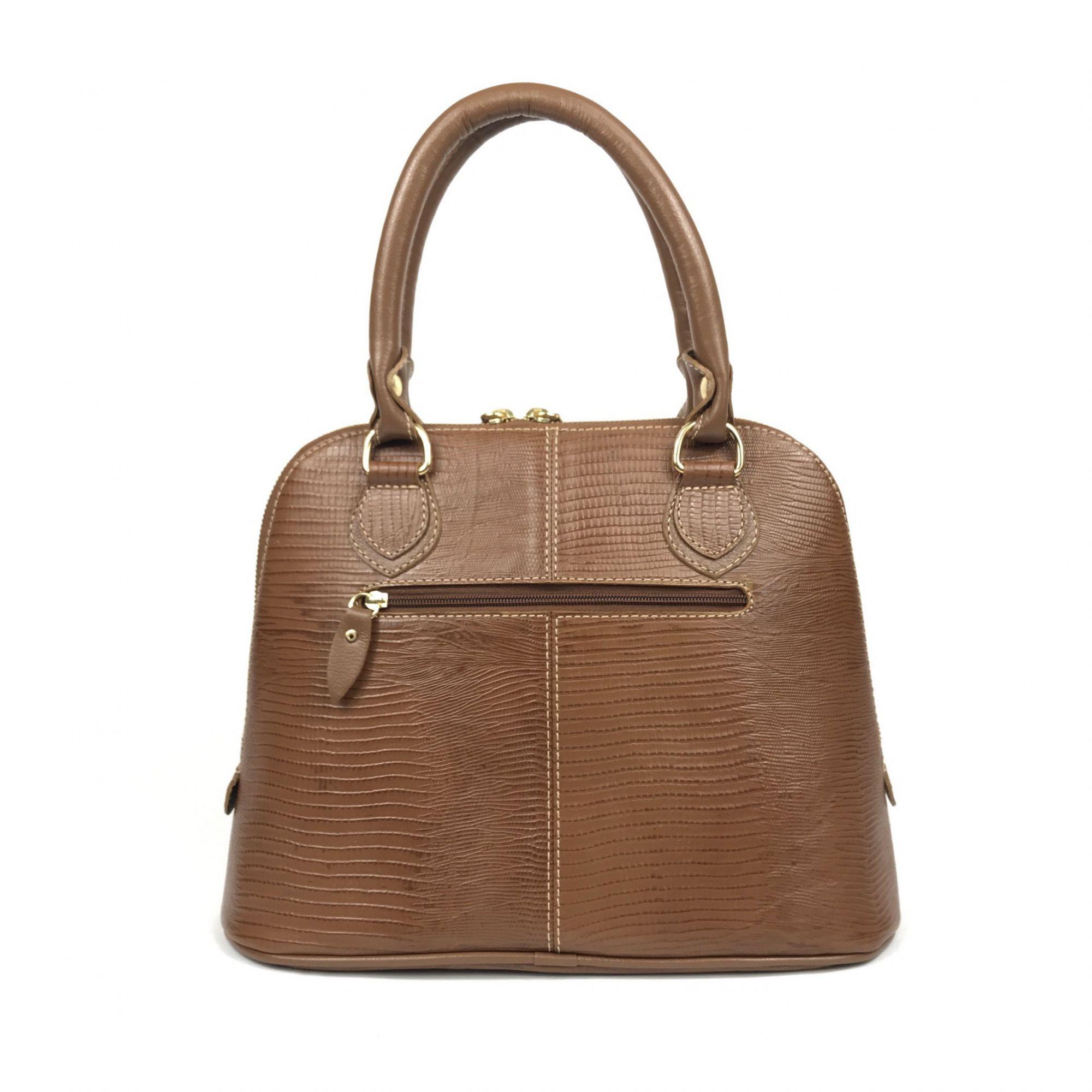 74d96e683 ... Bolsa feminina de couro média marrom bambu com alça de mão HB681 |  HAMISH ...