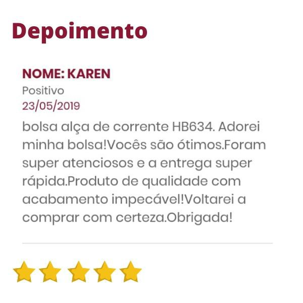 Bolsa de Couro Feminina Tiracolo Marrom Bambu Alça Corrente HB656 | HAMISH