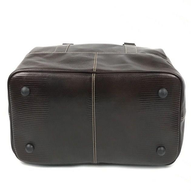 Bolsa De Mão Para Viagem de Couro Cor Marrom HP038 | HAMISH