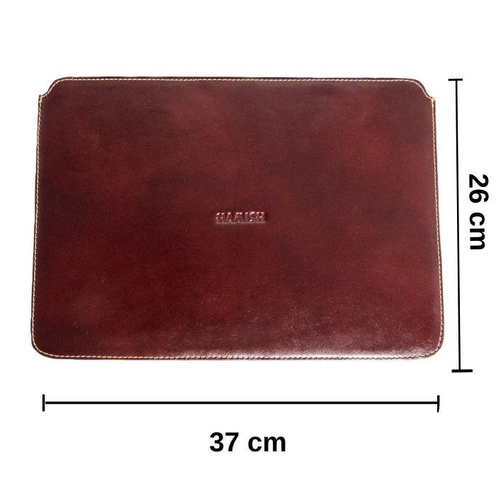 Capa para Notebook de Couro 14 Polegadas Cor Whisky | HAMISH