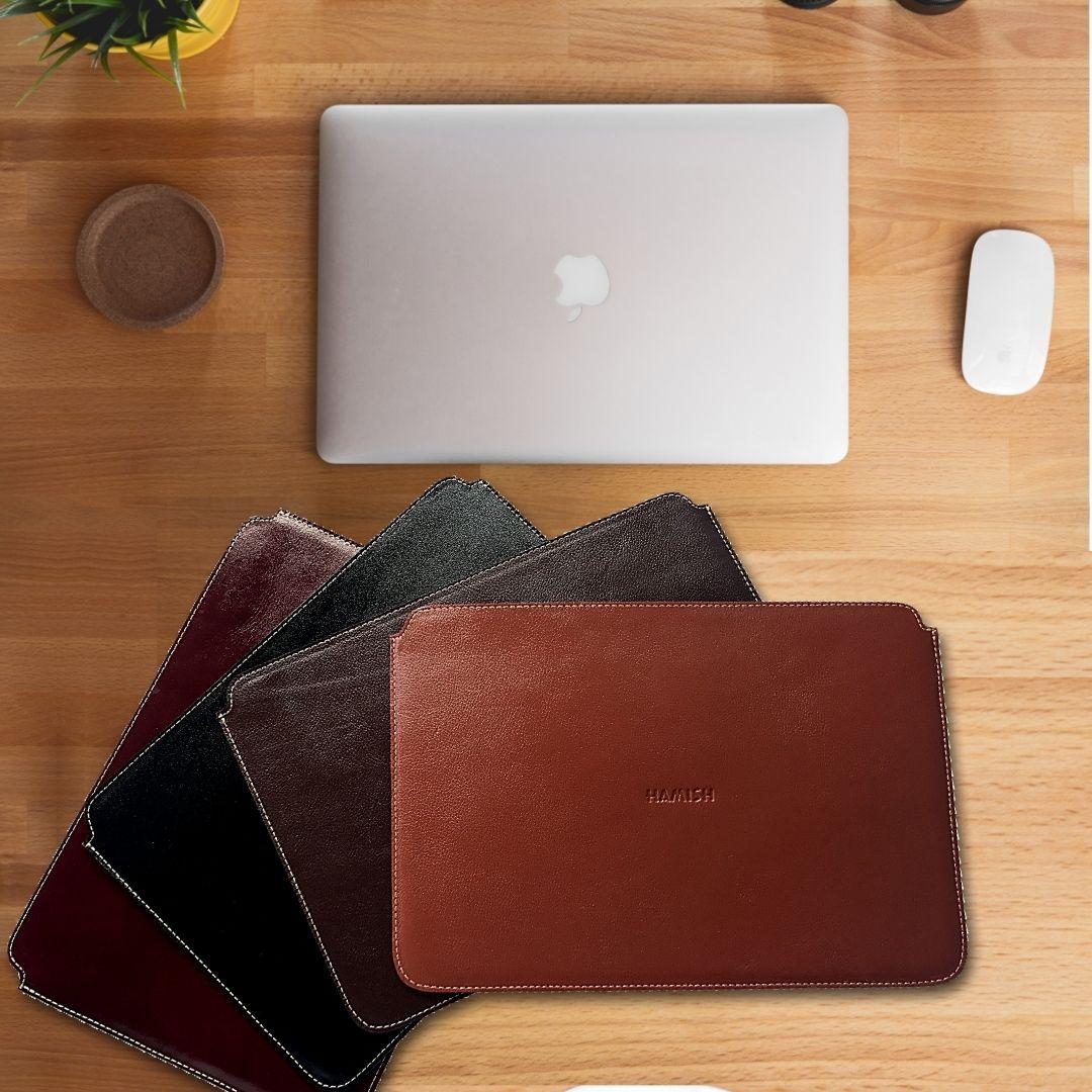 Case para MacBook Pro 16 Polegadas Couro Cor Whisky | HAMISH
