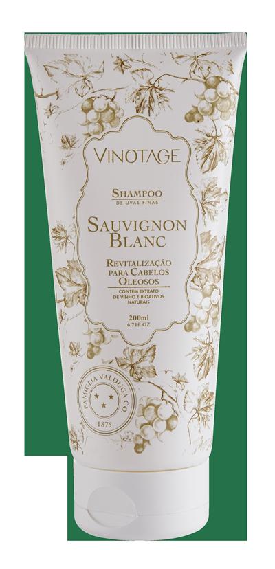 Combo: Shampoo Sauvignon Blanc 200 ml + Condicionador Sauvignon Blanc 140 ml.  - VINOTAGE