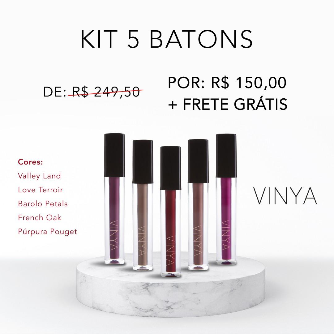 Kit 5 Batons   - VINOTAGE