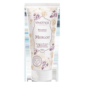 Shampoo Merlot 200 ml  - VINOTAGE