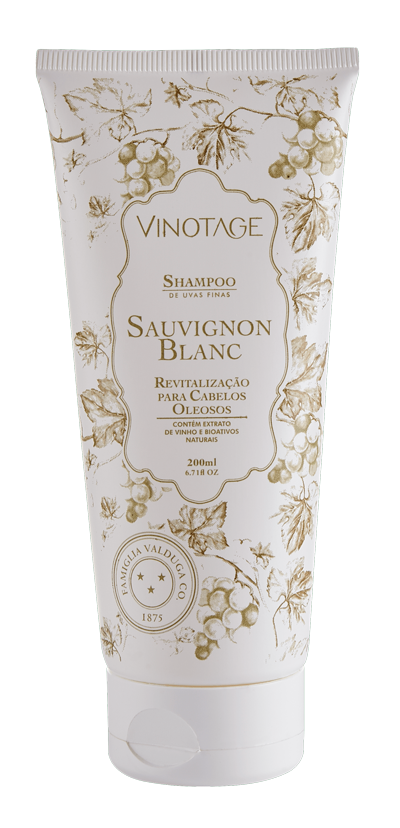Shampoo Sauvignon Blanc 200 ml  - VINOTAGE