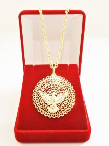 e25845a72f89f Colar Cordão Singapura Feminino 60cm Espirito Santo Tudo Folheado á Ouro -  Gabriela Costa Semi Jóias