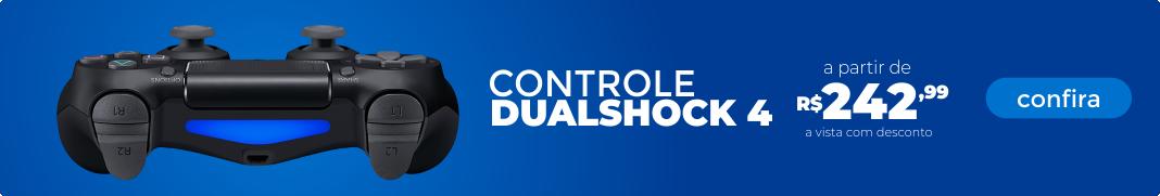 Controles Dualshock 4 - PS4