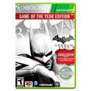 Batman: Arkham City Game of the Year Edition Xbox 360