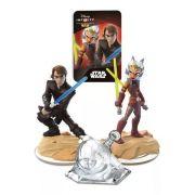 Bonecos Disney Infinity 3.0 Star Wars Anakin, Playset e Ahsoke