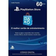 Cartão PSN Brasil R$60 Ps4 e Ps3