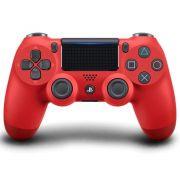 Controle Sem Fio Playstation 4 Dualshock Vermelho