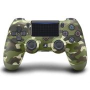 Controle Sony Dualshock 4 Camuflado Verde Ps4  - Sem Fio modelo CUH-ZCT2U