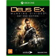 Deus Ex Mankind Divided Xbox One Day One Edition + Dlcs