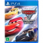 Game Carros 3: Correndo Para Vencer - PS4