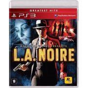 Game - L.A. Noire - PS3