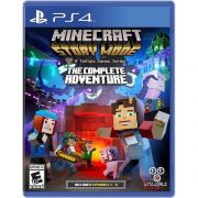 Game Minecraft: Story Mode - The Complete Adventure - PS4 (Semi-Novo)