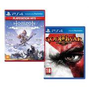 God Of War 3 + Horizon Zero Down Edição Completa Ps4