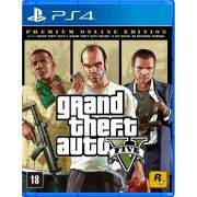 Grand Theft Auto V  (GTA 5) Premium Online Edition - PS4