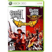 Guitar Hero II + Guitar Hero Aerosmith Dual Pack - XBOX 360