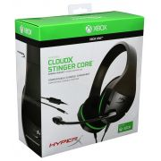 Headset Gamer Hyperx Cloudx Stinger Core Xbox One/nintendo Switch - Hx-hscscx-bk